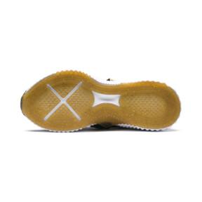 Thumbnail 3 of Defy Varsity Mid Damen Sneaker, Puma Black-Metallic Gold, medium