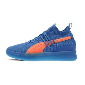05f3bb8c8de56 Clyde Court Core Basketball Shoes, Strong Blue-Shocking Orange, medium