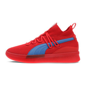 Thumbnail 1 of Clyde Court City Pack Basketball Shoes, High Risk Red-Strong Blue, medium