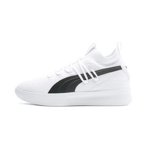 Thumbnail 1 of Clyde Court Basketball Shoes, Puma White, medium