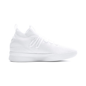 Thumbnail 5 of Clyde Court Basketball Shoes, Puma White, medium