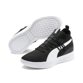 Thumbnail 2 of Clyde Court Core Basketball Shoes, Puma Black, medium