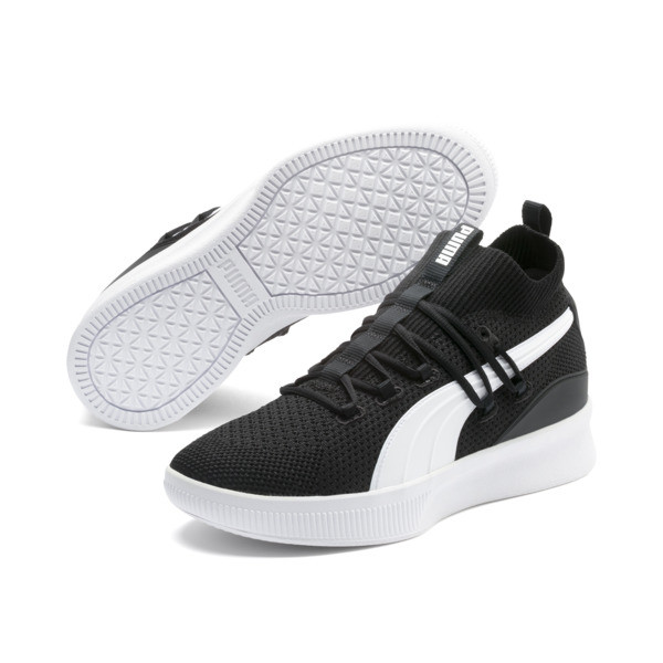 Clyde Court Core Basketball Shoes, Puma Black, large