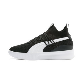 Thumbnail 1 of Clyde Court Core Basketball Shoes, Puma Black, medium
