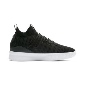 Thumbnail 5 of Clyde Court Core Basketball Shoes, Puma Black, medium