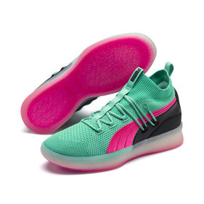 Thumbnail 2 of Clyde Court Disrupt Men's Basketball Shoes, Biscay Green, medium