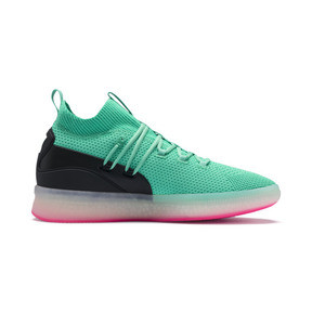 Thumbnail 5 of Clyde Court Disrupt Men's Basketball Shoes, Biscay Green, medium