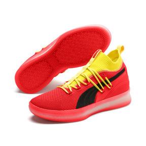 Thumbnail 2 of Clyde Court Disrupt Men's Basketball Shoes, Red Blast, medium