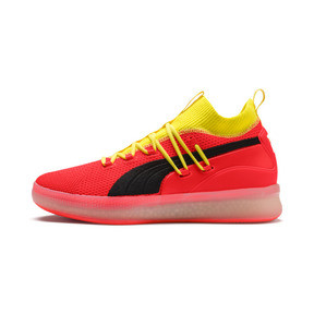 Thumbnail 1 of Clyde Court Disrupt Men's Basketball Shoes, Red Blast, medium