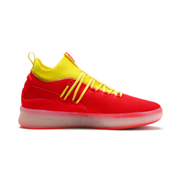 Clyde Court Disrupt Men's Basketball Shoes, Red Blast, large