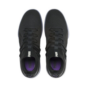 Thumbnail 6 van Clyde Court Disrupt basketball-schoenen voor mannen, Puma Black-ELECTRIC PURPLE, medium