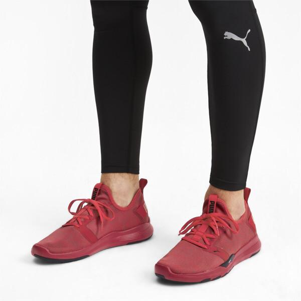 プーマ イグナイト コンテンダーニット, Ribbon Red-Puma Black, large-JPN