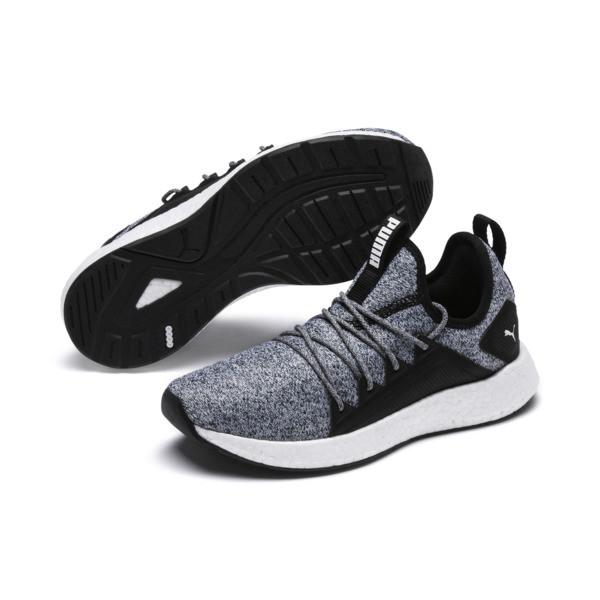 Basket NRGY Neko Strick Youth, Puma Black-Puma White, large