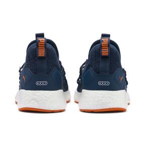 Thumbnail 3 of NRGY Neko Knit Running Shoes JR, G Sea-Peacoat-J Orange-White, medium