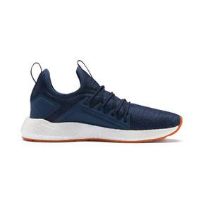Thumbnail 5 of NRGY Neko Knit Running Shoes JR, G Sea-Peacoat-J Orange-White, medium