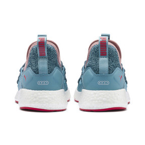 Thumbnail 3 of NRGY Neko Knit Running Shoes JR, M Blue-Bluestone-C Coral-Wht, medium