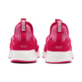Thumbnail 3 of NRGY Neko Knit Running Shoes JR, Nrgy Rose-Puma White, medium