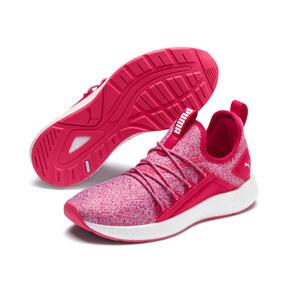 Thumbnail 2 of NRGY Neko Knit Running Shoes JR, Nrgy Rose-Puma White, medium