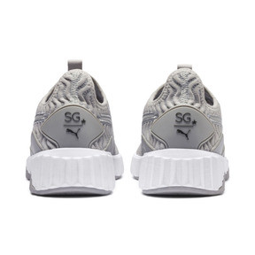 Thumbnail 4 of SG x PUMA Defy Women's Sneakers, Gray Violet-Puma Aged Silver, medium