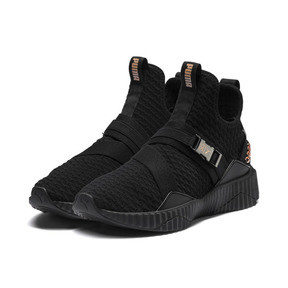 Thumbnail 2 of PUMA x SG Defy Mid Damen Sneaker, Puma Black-Rose Gold, medium