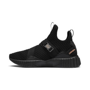 Thumbnail 1 of PUMA x SG Defy Mid Damen Sneaker, Puma Black-Rose Gold, medium