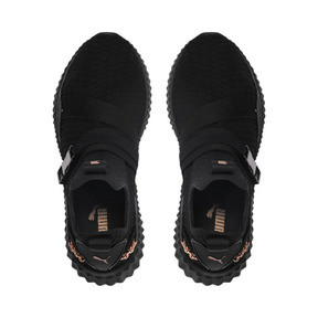 Thumbnail 6 of PUMA x SG Defy Mid Damen Sneaker, Puma Black-Rose Gold, medium