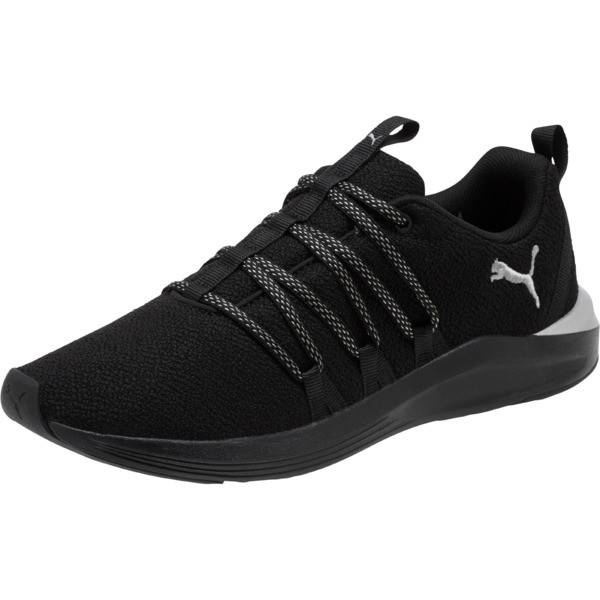 Prowl Alt Prem Mesh Women's Training Shoes, Puma Black-Puma Silver, large