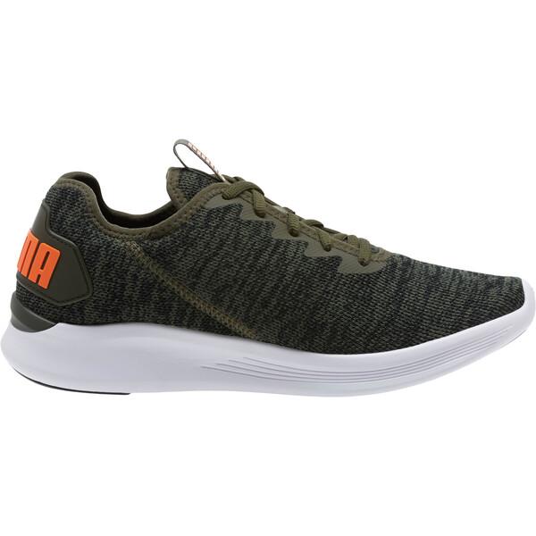 Ballast Men's Running Shoes, Forest Night-Black-Orange, large