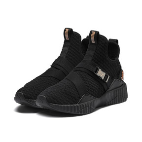 Thumbnail 2 of Defy Mid x SG Youth Mädchen Sneaker, Puma Black-Rose Gold, medium