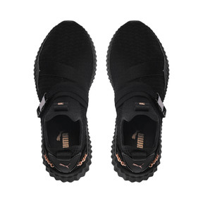 Thumbnail 6 of Defy Mid x SG Youth Mädchen Sneaker, Puma Black-Rose Gold, medium