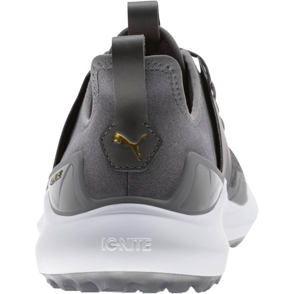IGNITE NXT Men's Golf Shoes, QUIET SHADE-Gold-Black, large