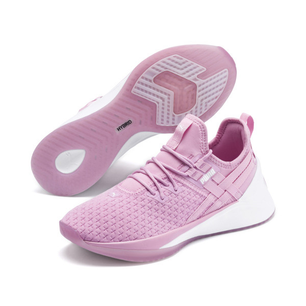 Jaab XT Women's Training Trainers, Lilac Sachet-Puma White, large