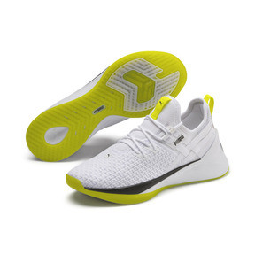 Thumbnail 3 of Jaab XT Women's Training Trainers, Puma White-Yellow Alert, medium