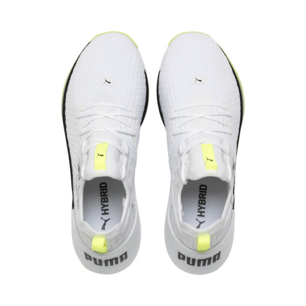 Jaab XT Women's Training Trainers, Puma White-Yellow Alert, large