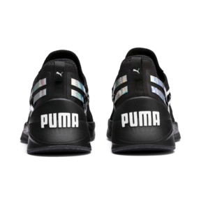 Thumbnail 4 of Jaab XT Iridescent Trailblazer Women's Training Trainers, Puma Black-Puma Black, medium