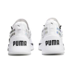 Thumbnail 4 of Jaab XT Iridescent Trailblazer Women's Training Trainers, Puma White-Puma Black, medium