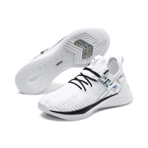 Jaab XT Iridescent Trailblazer Women's Training Shoes, Puma White-Puma Black, large