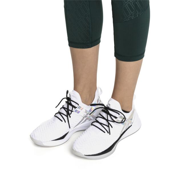 Jaab XT Iridescent Trailblazer Women's Training Trainers, Puma White-Puma Black, large