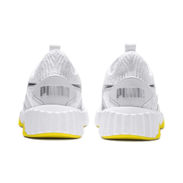 Defy Trailblazer Women's Training Shoes, Puma White-Blazing Yellow, large
