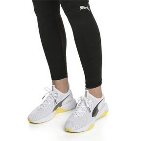 Thumbnail 2 of Defy Trailblazer Women's Training Shoes, Puma White-Blazing Yellow, medium