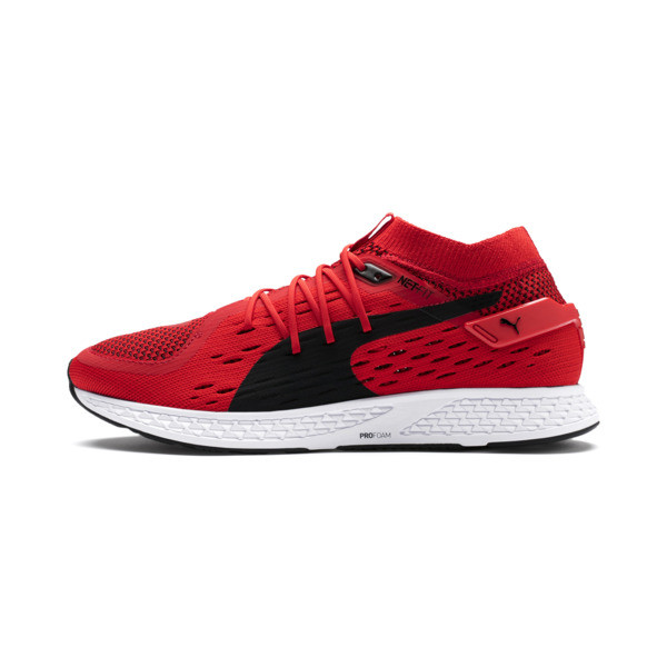 Speed 500 Men's Running Shoes, High Risk Red-Puma Black, large