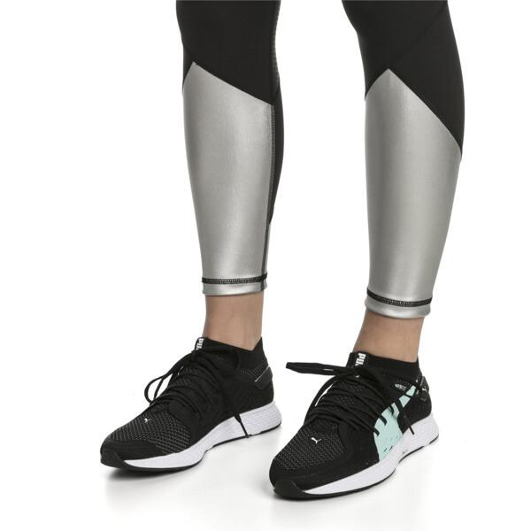 SPEED 500 Women's Running Shoes, Puma Black-Puma White, large