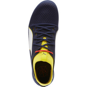 Thumbnail 5 of evoSPEED NETFIT Sprint 2 Men's Track Spikes, Blazing Yellow-Peacoat-White, medium