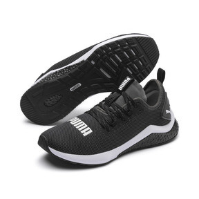 Thumbnail 3 of HYBRID NX Men's Running Shoes, Puma Black-Puma White, medium