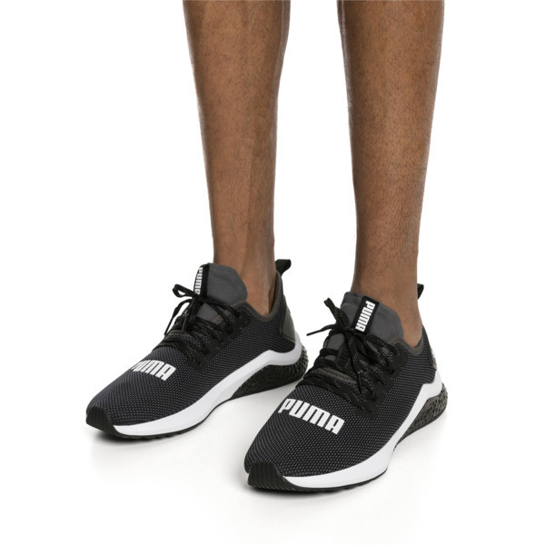 HYBRID NX Men's Running Shoes, Puma Black-Puma White, large
