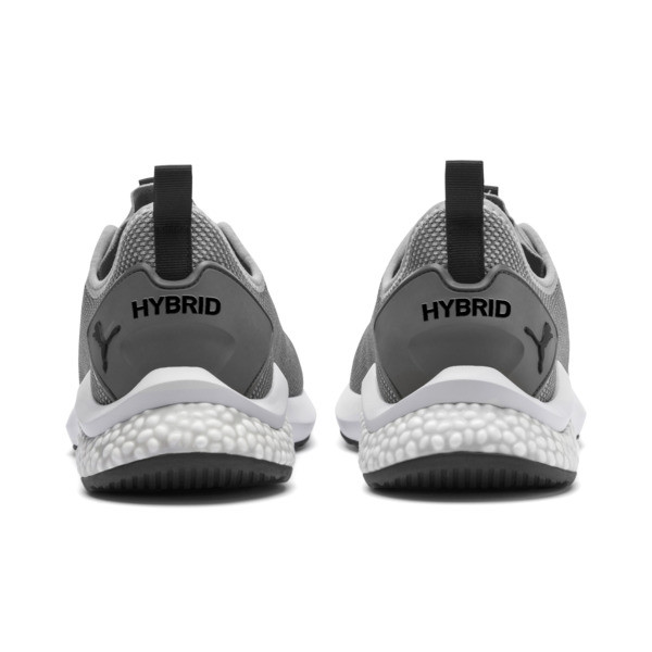 HYBRID NX Men's Running Shoes, Quarry-Puma White, large