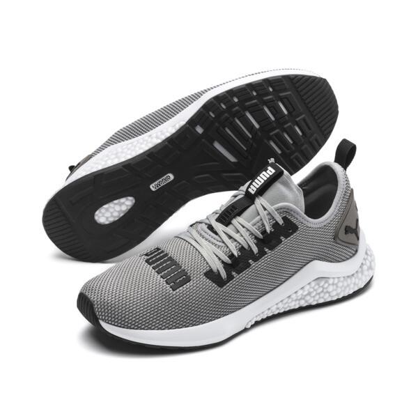 HYBRID NX Men's Running Shoes, Quarry-Puma White, large