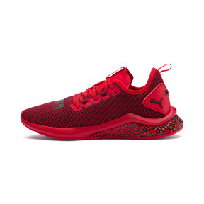 Thumbnail 1 of HYBRID NX Men's Running Shoes, High Risk Red-Puma Black, medium