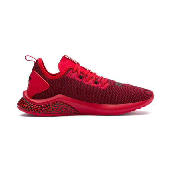 HYBRID NX Men's Running Shoes, High Risk Red-Puma Black, large