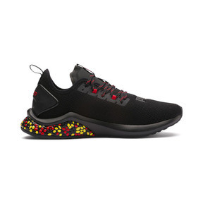 Thumbnail 5 of HYBRID NX Men's Running Shoes, Black-Red-Yellow, medium